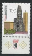 ALLEMAGNE FEDERALE   Centenaire De L'église Du Souvenir De L'empereur Guillaume à Berlin   N° Y&T  1644  **