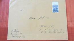 DR: Brief 25x18 Mit WHW 25 Pfg Oberrand >25g, OSt. Herne Vom 2.11.40 Knr: 758 - Briefe U. Dokumente