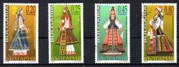 BULGARIE. N°4072-5 Oblitérés De 2005. Costumes Traditionnels.