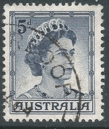 Australia. 1959-63 QEII Definitives. 5d Type B Used. SG 314 - 1952-65 Elizabeth II : Pre-Decimals