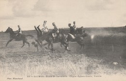SAUMUR - Ecole De Cavalerie - Chute Oppen Disch Verrie - Photo Blanchaud 65 - Non écrite - Saumur