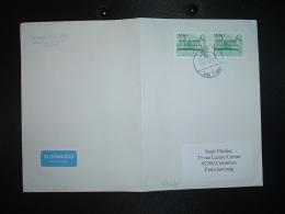 LETTRE Pour La FRANCE TP KANAPE VOGEL SEBESTYEN 200 X2 OBL.2012 12 17 PAPA - Hongrie