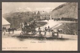 Carte Postale ( Col De La Furka / Diligence ) - UR Uri