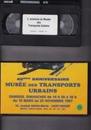 Cassette Sur Les Transports Urbains: Tramways, Etc - Documentary