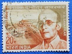 INDIA 20 P 1970 VINAYAK DAMODAR SAVARKAR (COLOR) - USED