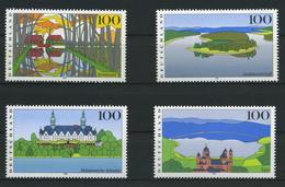 ALLEMAGNE FEDERALE    Images De L'Allemagne  N° Y&T  1682 à 1685  **