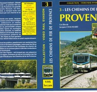 Cassette Sur Les Chemins De Fer De Provence  60 Mn Prix 30 Euros à L'origine - Documentary
