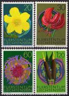 LIECHTENSTEIN - Fleurs 1972