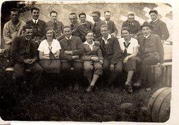 Photo Originale Groupe De Jeunes Des Jeunesses Hitlériennes, La Hitlerjugend & Bund Deutscher Mädel De 1926 à 1945
