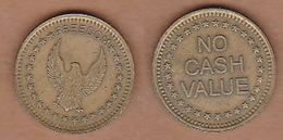 AC - FREEDOM GAME AMUSEMENT TOKEN JETON #2  FROM TURKEY - Elongated Coins