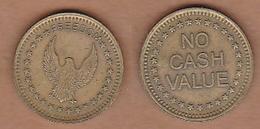 AC - FREEDOM GAME AMUSEMENT TOKEN JETON #2  FROM TURKEY - Souvenirmunten (elongated Coins)