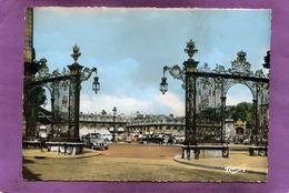 54 NANCY  Les Grilles De Jean Lamour De La Place Stanislas CITROËN 2CV PHANHARD AUTOMOBILES - Nancy