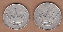 AC - CROWN ILLUSTRATED GAME - AMUSEMENT TOKEN - JETON FROM TURKEY - Elongated Coins