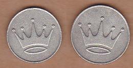 AC - CROWN ILLUSTRATED GAME - AMUSEMENT TOKEN - JETON FROM TURKEY - Souvenirmunten (elongated Coins)