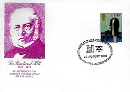 GRANDE BRETAGNE   Lettre  1979 Rolwland Hill Poste