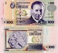 URUGUAY      100 Pesos Urug.    P-88b       2011       UNC - Uruguay