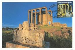 Turkey; FDC 2012 Our Cultural Assets (Zeus Temple)
