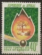 SENEGAL 1977 Lucha Contra Los Incendios Forestales. USADO - USED. - Senegal (1960-...)