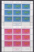 Europa Cept 1972 Yugoslavia 2v 2 Sheetlets ** Mnh (F6362) - 1972