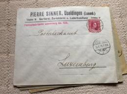 Luxembourg Lettre Useldange
