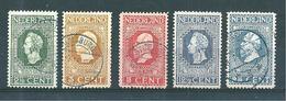 Pays Bas Timbres De 1913  N°82 A 84  Oblitérés - 1891-1948 (Wilhelmine)