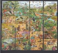 Mexico 1996,24V In Compl Set,birds,vogels,vögel,oiseaux,pajaros,uccelli,aves,mammals,other Animals,MNH/Postfris(C240) - Oiseaux