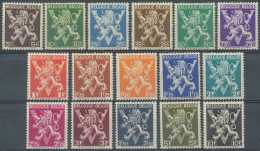 NB- N° 674/89, Lions Avec Grand 'V', Belgique-Belgie, SC