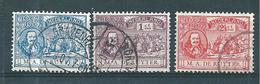 Pays Bas Timbres De 1907  N°73 A 75  Oblitérés