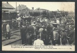 +++ CPA - KONTICH - CONTICH - Accident Chemin De Fer - Schrikkelijk Spoorweg Ongeluk - Vue Générale - Train Trein  // - Kontich