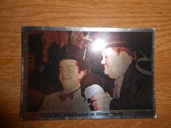 Chromo 9,5 X 6,5  Nr 53  Stan Laurel En Oliver Hardy - Chromos