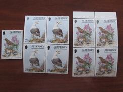 Alderney 1994 -97 MNH Birds