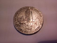 MEDAILLES PIERRE GUILLAUMAT 1928 ELF AQUITAINE Par C.GONDARD Diamètre 40 Mm 30.55 Grammes - Autres