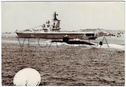 Soviet Submarine. Warship. THE USSR. 1970s (?) Years.