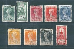 Pays Bas Timbres De 1923  N°118 A 126   Oblitérés - Period 1891-1948 (Wilhelmina)