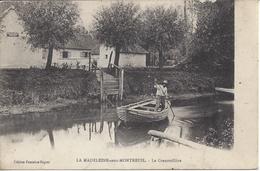 CPA 62 - La Madeleine Sous Montreuil - La Grenoillère - Oblitération Convoyeur Etaples à Arras (2 Scans) - Autres Communes