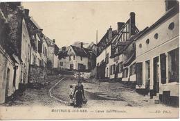 CPA 62 - MONTREUIL Sur MER - Cavée St-Firmin - Oblitération Convoyeur Etaples à St-Pol (2 Scans) - Autres Communes