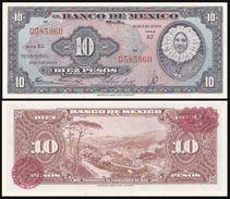 Mexico 10 PESOS 1950 P 47e UNC - Mexique