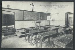 +++ CPA - BORSBEEK - Pensionnat Des Soeurs Du Pauvre Enfant Jésus  - Une Classe - G.Hermans - Cachet Relais BORSBEECK // - Borsbeek