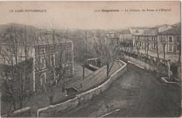 CPA 30 GAGNERES Postes Hôpital Artige 5232 Gagnières - Other Municipalities