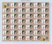 Ruanda 1970 Mi.Nr: 395 Komplettbogen, EXPO '70, Postfrisch** (40 Marken)
