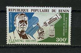 Rep. Benin ** N° 410 - 50e Ann. De La Découverte Des Antibiotiques Par Fleming