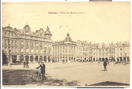 LEUVEN 1932   LOUVAIN PLACE DES MARTYRS N° 1 - Leuven