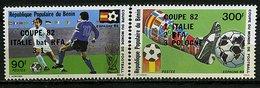 Rep. Benin ** N° 541/542 - Finale Et Classment De La Coupe Du Monde De Foot