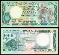 Rwanda 1000 FRANCS 1981 P 21 UNC - Rwanda