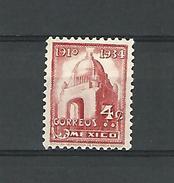 1910 / 1934 N° 523 CORREOS 4C MEXICO  DOS CHARNIERE  NEUF - Mexico