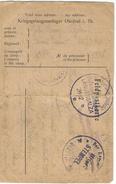 _6Rm-738:  Feldpostkarte > Saint-Quentin ... Is Vervuild .. Is Zoals Ze Is... Verder Uit Te Zoeken...