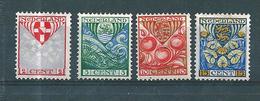 Pays Bas Timbres De 1926 N°186 A 189   Neufs *