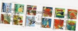 France Carnet ,oblitéré Service Philatelique De La Poste,  Dans La Date D'emission ,N° C 372 Complet Obitération Superbe - Carnets