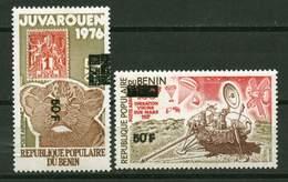 Rep. Benin ** PA N° 304/305 Surchargé - Juvarouen Et Conquête De L'espace