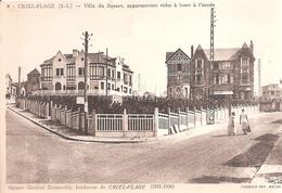Criel - Plage . Villa Du Square Appartement Vides à Louer à L'année . - Criel Sur Mer